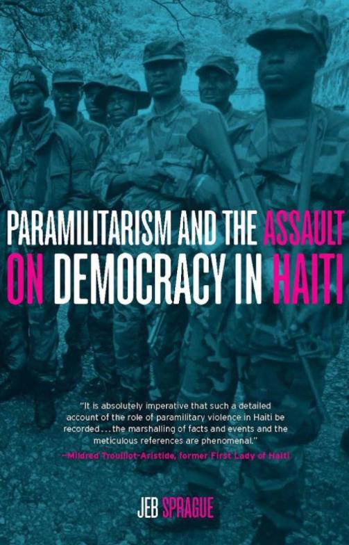 Paramilitarism in Haiti – Book Launch