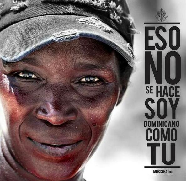 Protest against Dominican Republic