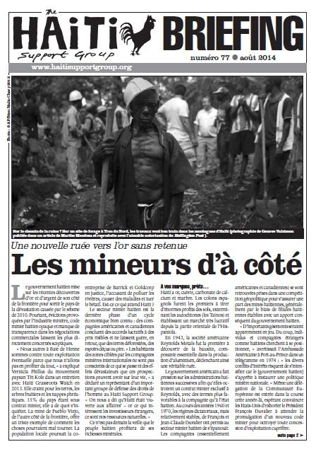 Les Mineurs d'à Côté (HB77)