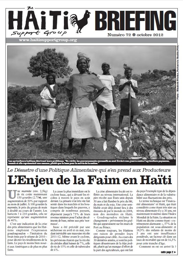 You are currently viewing L'Enjeu de la Faim en Haïti (HB72)