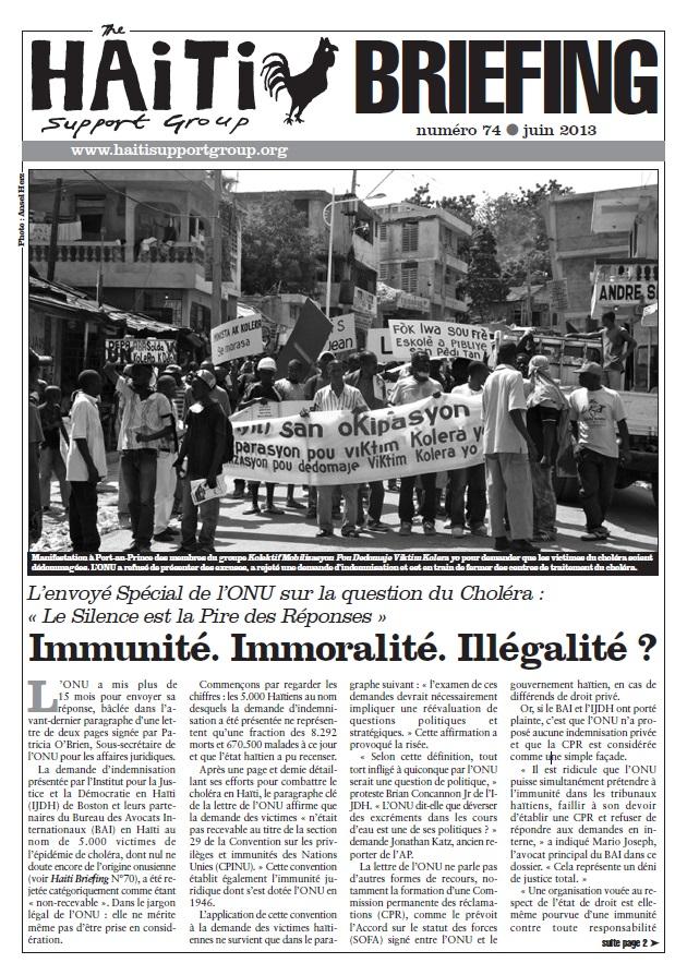 You are currently viewing Immunité. Immoralité. Illégalité? (HB74)