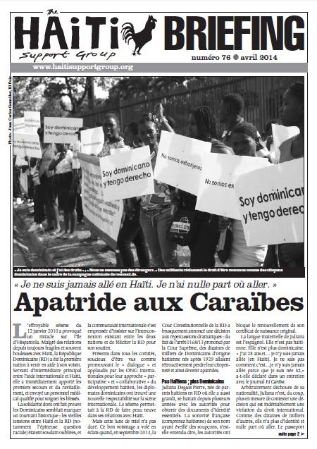 Apatride aux Caraïbes (HB76)
