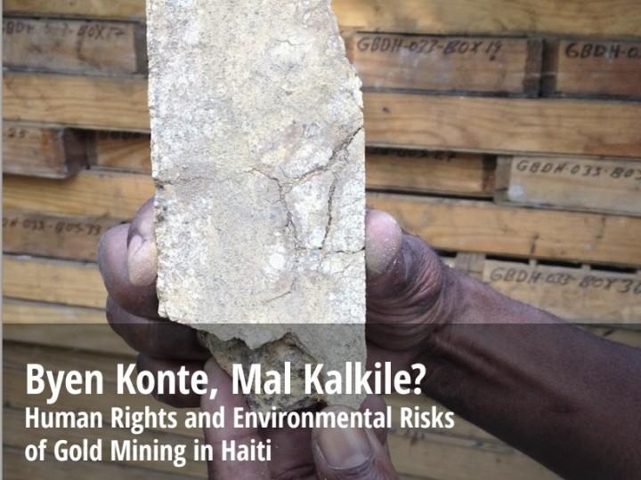 Mining Report Launch: Byen Konte, Mal Kalkile?