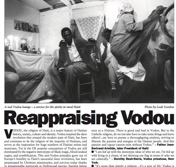 Reappraising Vodou in Haiti