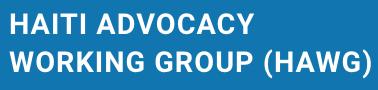 Haiti Advocacy Week in Washington