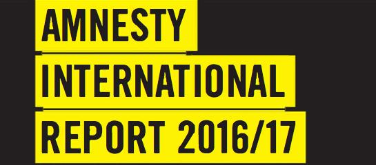 Annual Report: Amnesty International 2016-2017