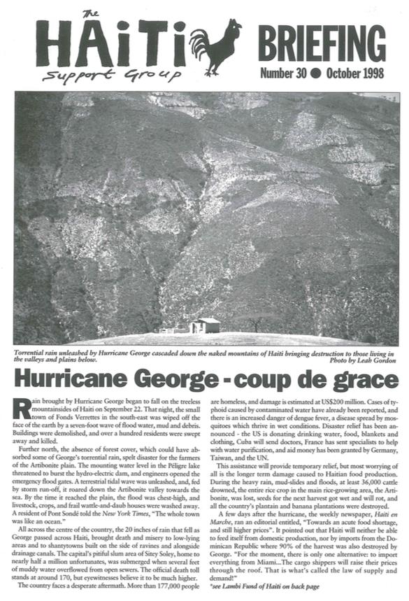Hurricane George – Coup de Grace (HB30)