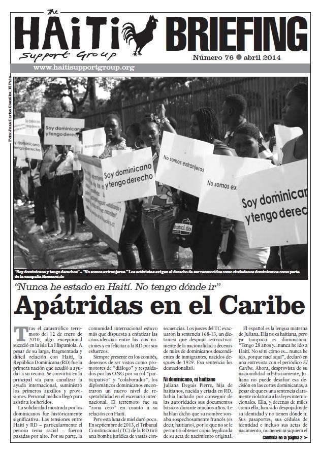 Apátridas en el Caribe (HB76)