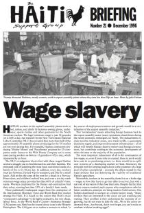 Wage Slavery (HB21)