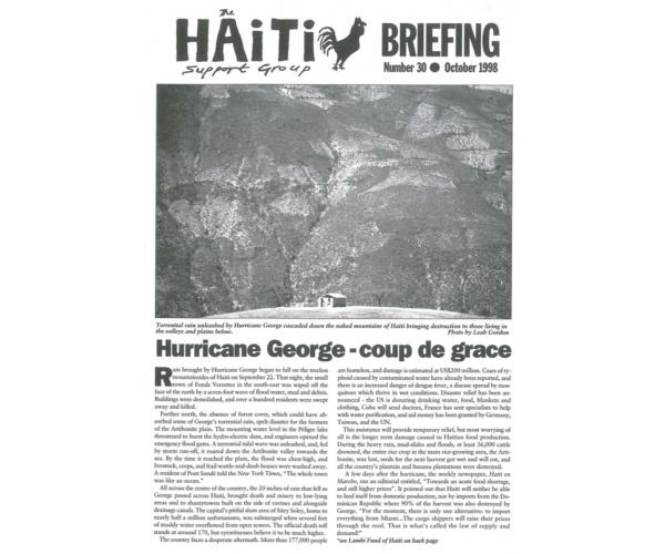 Hurricane George - Coup de Grace (HB30)