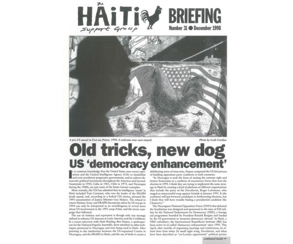 Old Tricks, New Dog: US