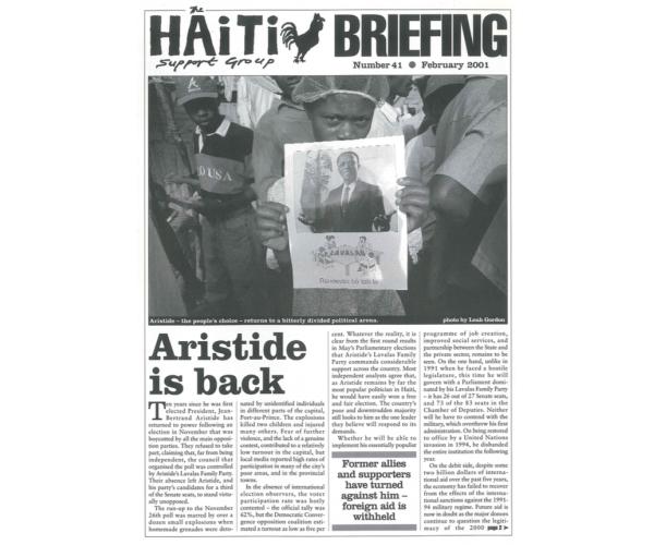 Aristide is Back (HB41)