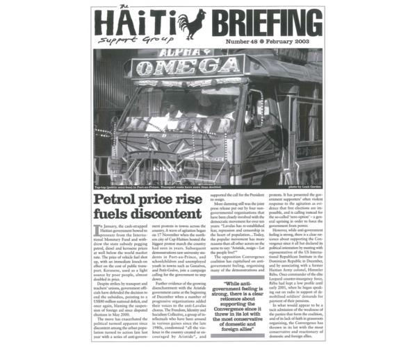 Petrol Price Rise Fuels Discontent (HB48)