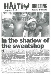 In the Shadow of the Sweatshop (HB13)