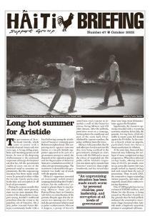 Long Hot Summer for Aristide (HB47)
