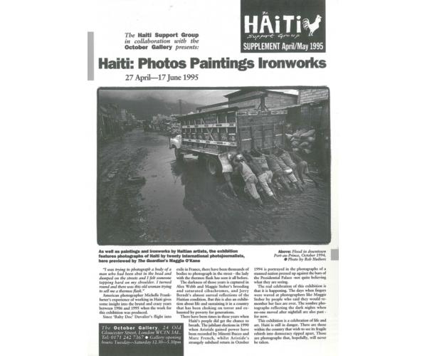 Haiti Photos & Art (HB12 Sup)